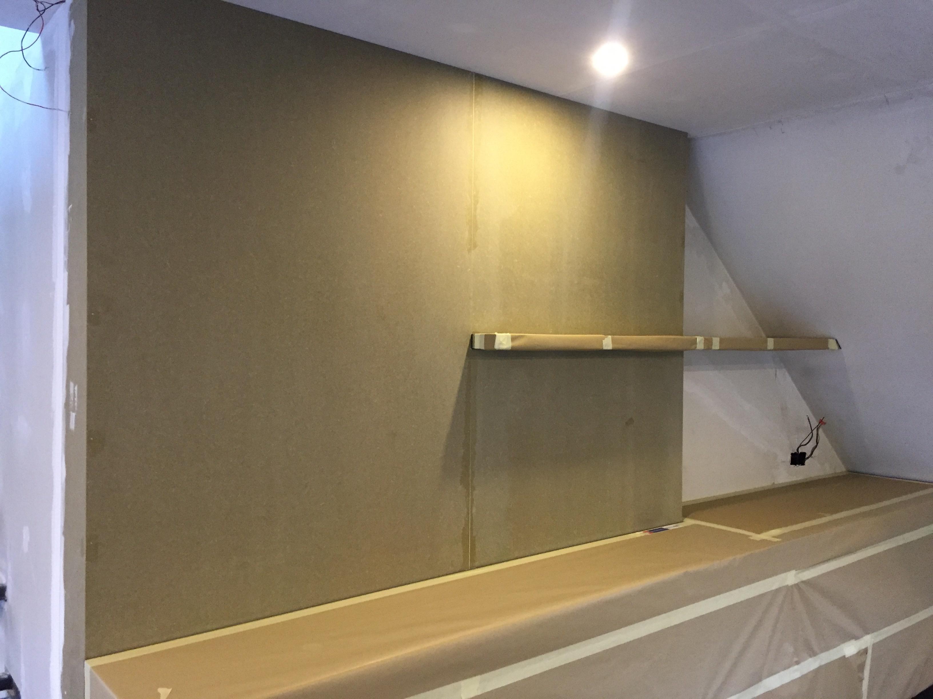 gyproc plafond schilderen